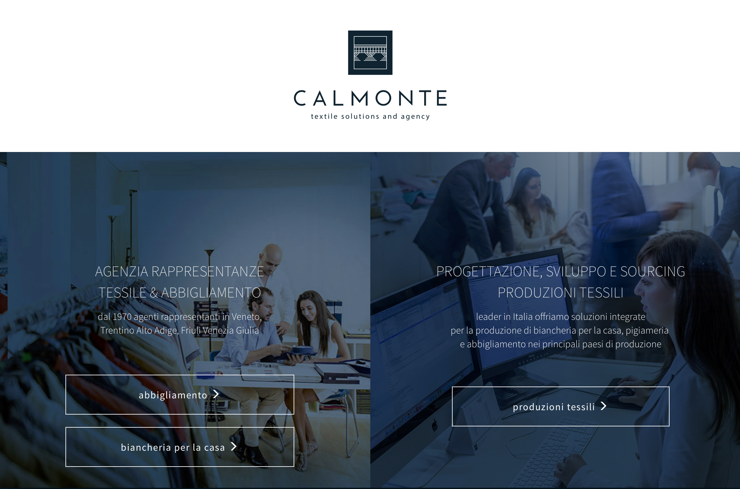 Say Hello to the new Calmonte website!